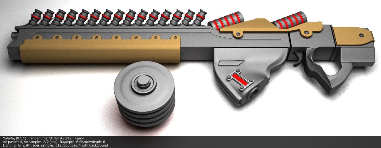 Как сделать лазерную пушку своими руками 38